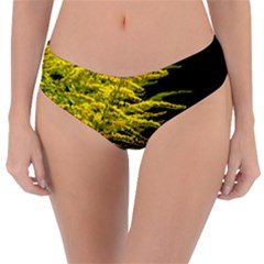 Golden Rod Gold Diamond Reversible Classic Bikini Bottoms