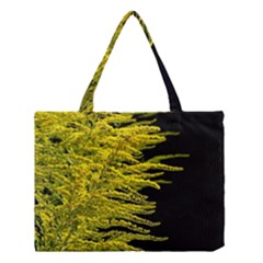 Golden Rod Gold Diamond Medium Tote Bag