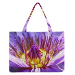 Flower Blossom Bloom Nature Zipper Medium Tote Bag