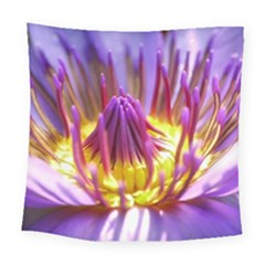 Flower Blossom Bloom Nature Square Tapestry (large)