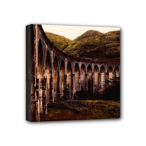 Viaduct Structure Landmark Historic Mini Canvas 4  X 4