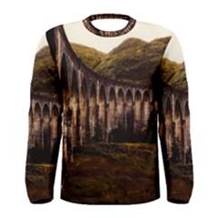 Viaduct Structure Landmark Historic Men s Long Sleeve Tee