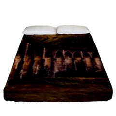 Viaduct Structure Landmark Historic Fitted Sheet (king Size) by BangZart
