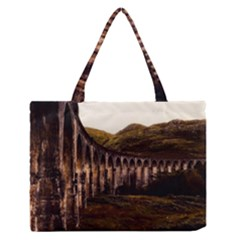 Viaduct Structure Landmark Historic Zipper Medium Tote Bag