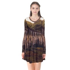 Viaduct Structure Landmark Historic Flare Dress