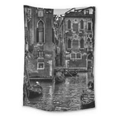 Venice Italy Gondola Boat Canal Large Tapestry