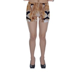 Africa African Animal Cat Close Up Skinny Shorts