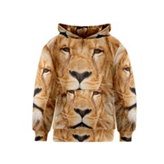 Africa African Animal Cat Close Up Kids  Pullover Hoodie