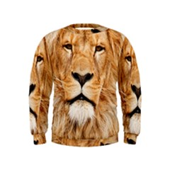 Africa African Animal Cat Close Up Kids  Sweatshirt