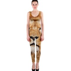 Africa African Animal Cat Close Up Onepiece Catsuit