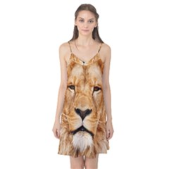 Africa African Animal Cat Close Up Camis Nightgown