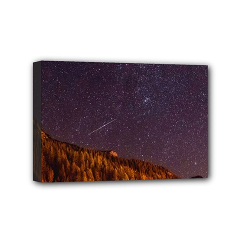 Italy Cabin Stars Milky Way Night Mini Canvas 6  X 4
