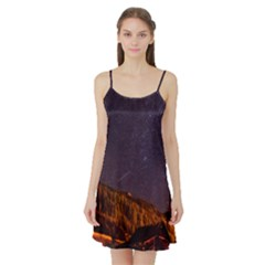 Italy Cabin Stars Milky Way Night Satin Night Slip