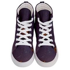 Italy Cabin Stars Milky Way Night Men s Hi Top Skate Sneakers