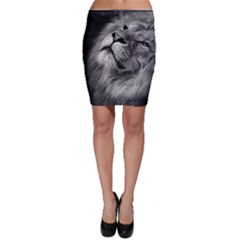 Feline Lion Tawny African Zoo Bodycon Skirt