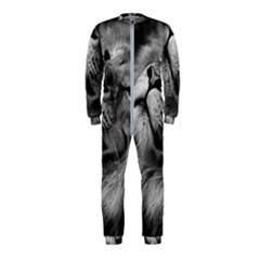 Feline Lion Tawny African Zoo Onepiece Jumpsuit (kids)