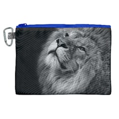 Feline Lion Tawny African Zoo Canvas Cosmetic Bag (xl) by BangZart