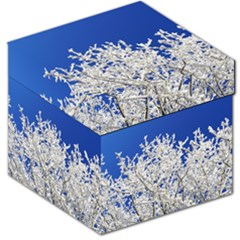 Crown Aesthetic Branches Hoarfrost Storage Stool 12