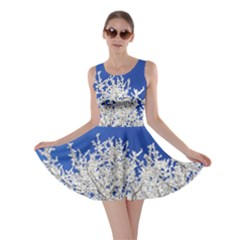 Crown Aesthetic Branches Hoarfrost Skater Dress by BangZart