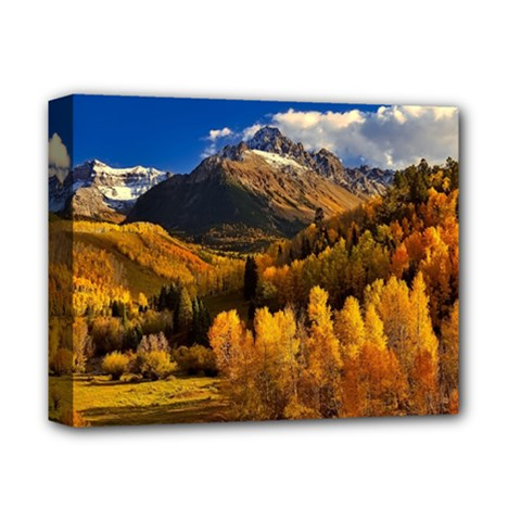 Colorado Fall Autumn Colorful Deluxe Canvas 14  X 11  by BangZart
