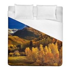 Colorado Fall Autumn Colorful Duvet Cover (full/ Double Size) by BangZart