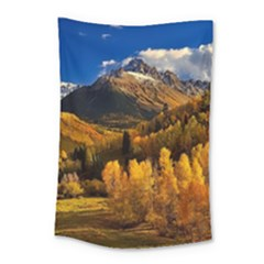 Colorado Fall Autumn Colorful Small Tapestry by BangZart