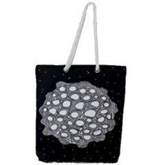 Strange Planet Full Print Rope Handle Tote (large) by jumpercat