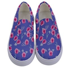 Roses And Roses Kids  Canvas Slip Ons