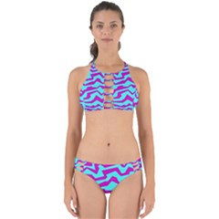Polynoise Shock New Wave Perfectly Cut Out Bikini Set