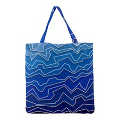 Polynoise Deep Layer Grocery Tote Bag by jumpercat
