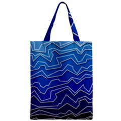 Polynoise Deep Layer Zipper Classic Tote Bag by jumpercat
