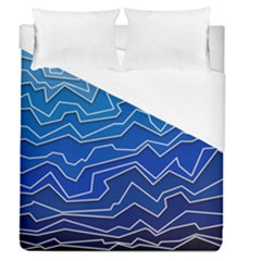 Polynoise Deep Layer Duvet Cover (queen Size) by jumpercat