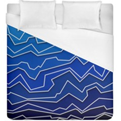 Polynoise Deep Layer Duvet Cover (king Size) by jumpercat