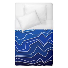 Polynoise Deep Layer Duvet Cover (single Size) by jumpercat