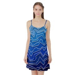 Polynoise Deep Layer Satin Night Slip by jumpercat