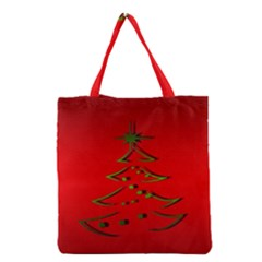 Christmas Grocery Tote Bag by BangZart