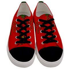 Christmas Men s Low Top Canvas Sneakers
