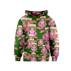 Seamless Tile Repeat Pattern Kids  Pullover Hoodie by BangZart