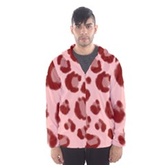 Seamless Tile Background Abstract Hooded Wind Breaker (men)