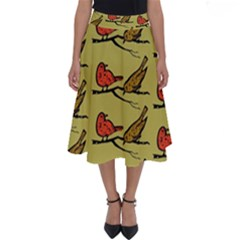 Animal Nature Wild Wildlife Perfect Length Midi Skirt