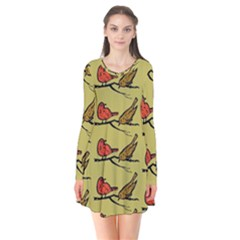 Animal Nature Wild Wildlife Flare Dress