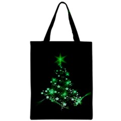 Christmas Tree Background Classic Tote Bag by BangZart