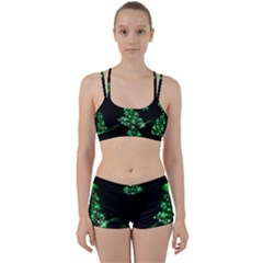 Christmas Tree Background Women s Sports Set