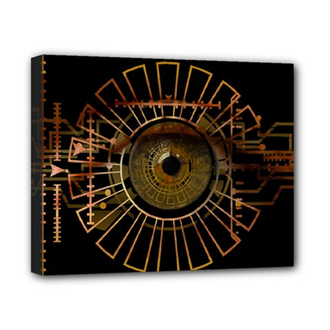 Eye Technology Canvas 10  X 8