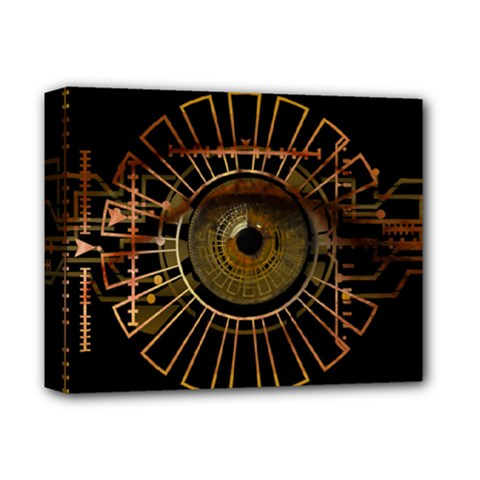 Eye Technology Deluxe Canvas 14  X 11  by BangZart