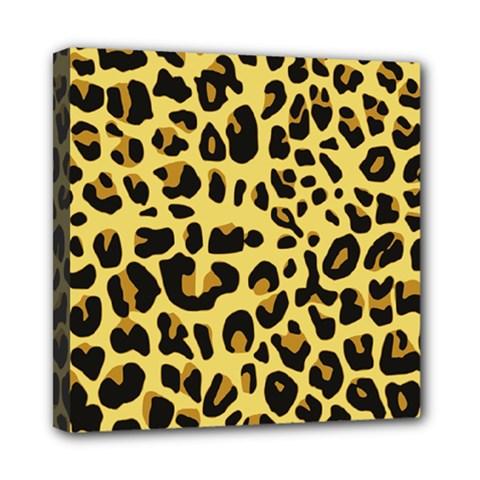 Animal Fur Skin Pattern Form Mini Canvas 8  X 8