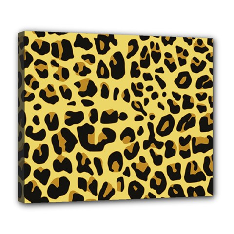 Animal Fur Skin Pattern Form Deluxe Canvas 24  X 20