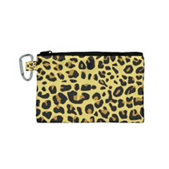 Animal Fur Skin Pattern Form Canvas Cosmetic Bag (small) by BangZart