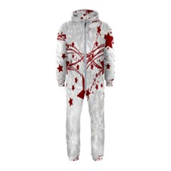 Christmas Star Snowflake Hooded Jumpsuit (kids)