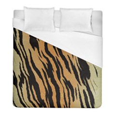 Animal Tiger Seamless Pattern Texture Background Duvet Cover (full/ Double Size)